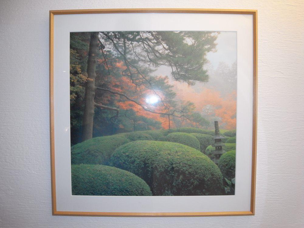 院内ポスターは京都の詩仙堂